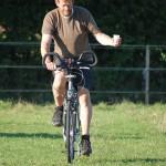 Für die meisten Fahrradfahrer war es eine der einfachsten Übungen