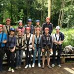 Die Hochseilgarten-Truppe